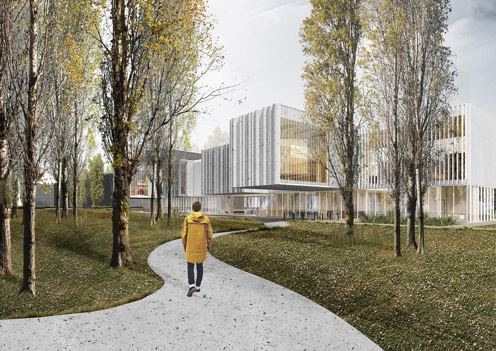 bibliotekos architektūrinio projekto sukūrimas
