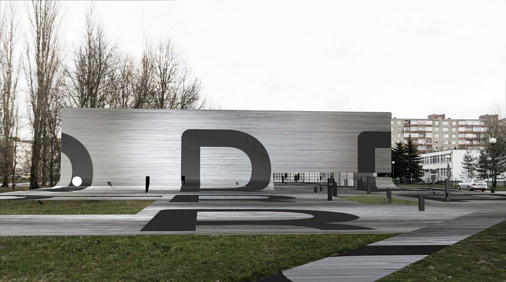 "II vieta – Projektas ""B"", K. Lupeikio projektavimo įmonė."