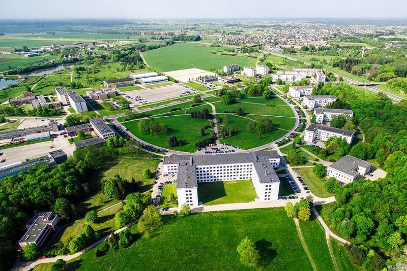 Aleksandro Stulginskio universiteto akademinio miestelio kraštovaizdis. ASU nuotr.