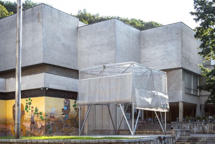 "Galerija be sienų (""Office de Achitectura""). Norbert Tukaj nuotr."