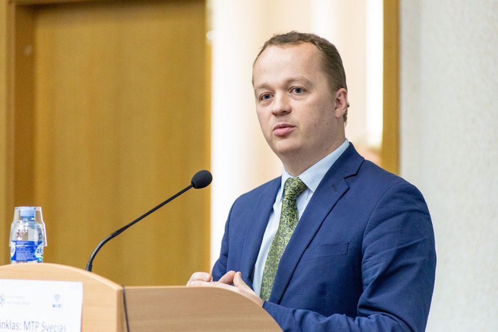 VIPA Investicijų ir plėtros skyriaus vadovas Justinas Bučys.