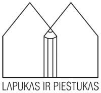 lapukas ir piestukas logo