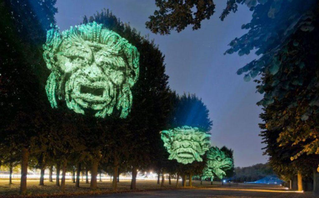 """Projektas """"Šviečiantis Vilniaus legendų parkas""""."""