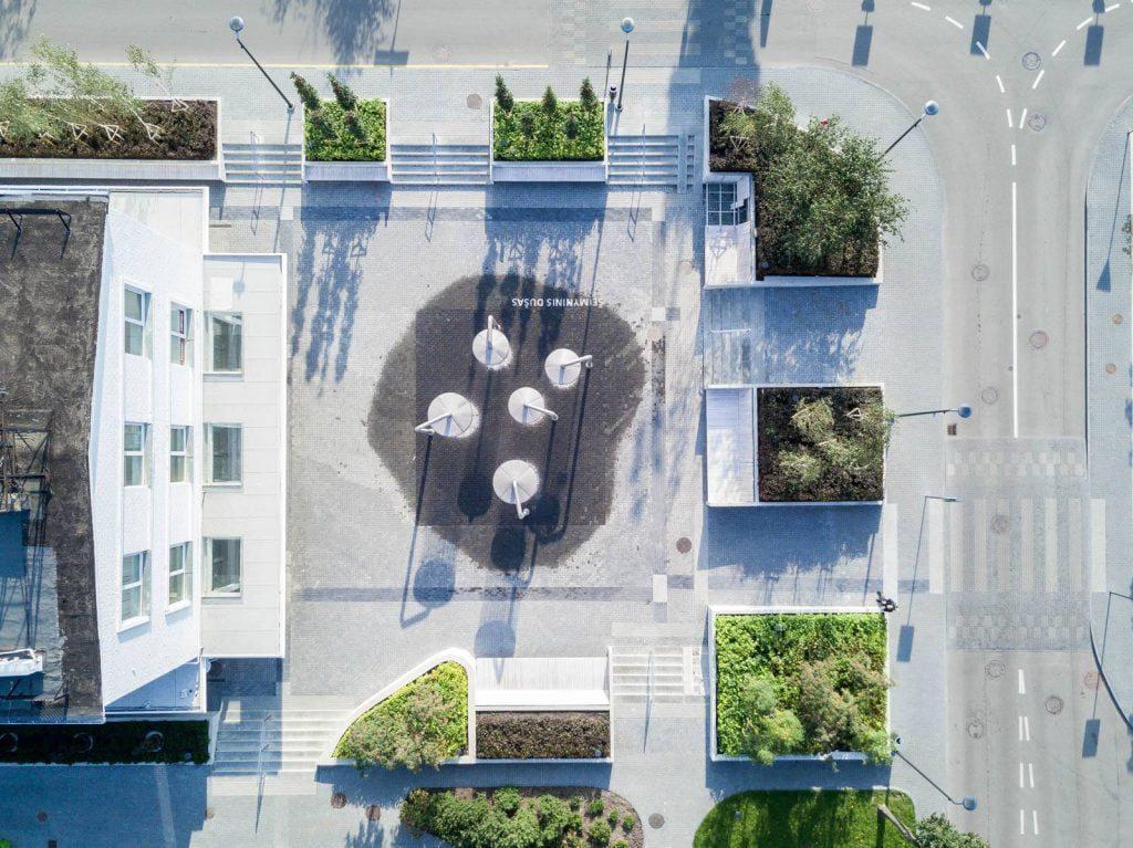 """""""Ogmios miesto"""" viešųjų erdvių urbanistinė transformacija. Norbert Tukaj nuotr."""