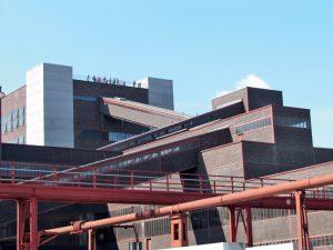 4 il. Zollverein XII anglies kasyklų kompleksas Esene (Vokietija). A. Štelbienės nuotr.