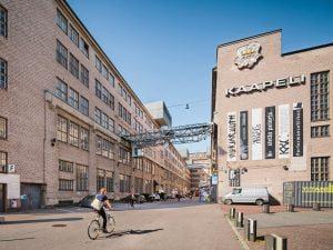 5 il. Kaapeli (Kabelių gamykla) – didžiausias kultūrinis centras Helsinkyje (Suomija). Kaapeli nuotr.