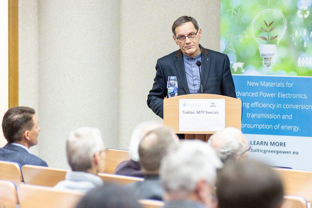 Kauno mokslo ir technologijų parko direktorius dr. Vygintas Grinis.