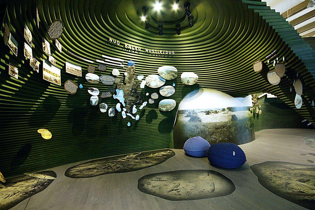 mozaikinės holo grindys