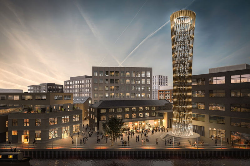 """Waugh Thistleton Architects"" vizual."