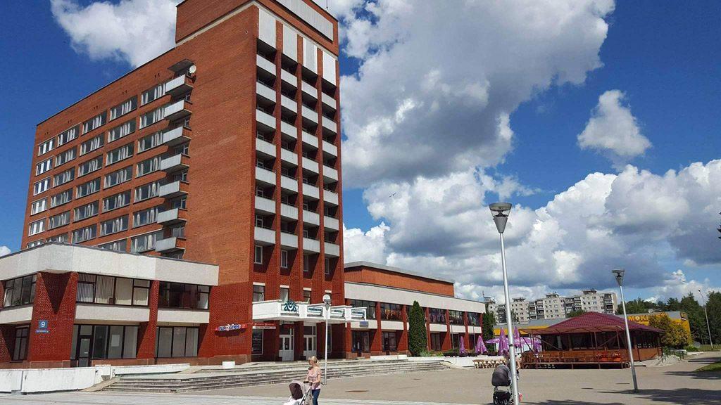"""Viešbutis """"Aukštaitija"""" kaip socialinė miesto dominantė."""