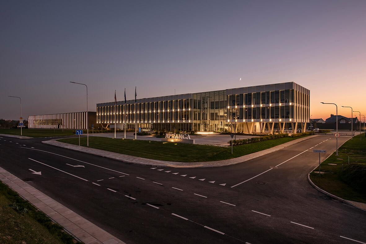 """""""Aprangos"""" grupės administracijos ir logistikos centras. """"Darnu Group"""" nuotr."""