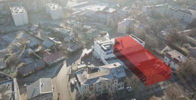 Rekonstruojamas pastatas