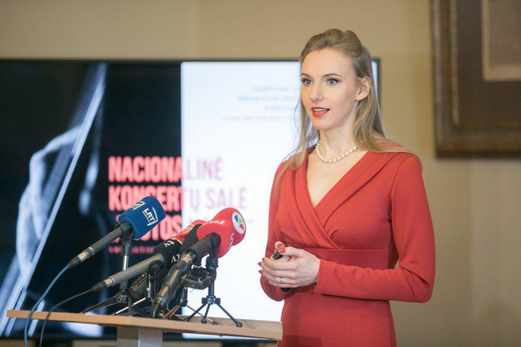 Lietuvos architektų sąjungos pirmininkė Rūta Leitanaitė. S. Žiūros nuotr.