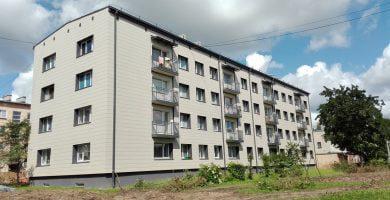 daugiabučių namų atnaujinimo programa
