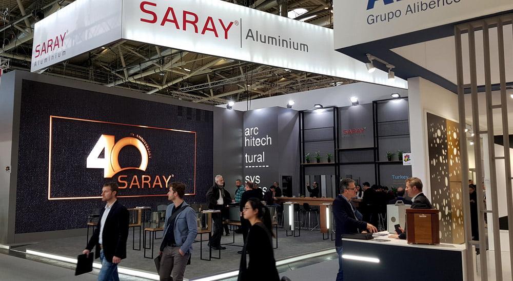 """Turkijos gamintojas """"SARAY Aluminium"""" šiais metais švenčia 40-metį."""