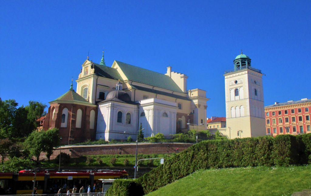 Varšuvos Šv. Onos bažnyčia, kurioje palaidota Ona Radvilaitė. Gyčio Oržikausko nuotr.