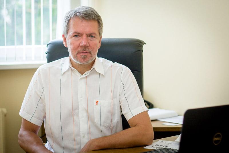 Būsto energijos taupymo agentūros direktorius Valius Serbenta. G. Bartuškos nuotr.