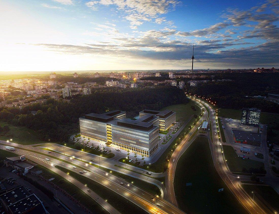 """Business Garden Vilnius"" vizual."