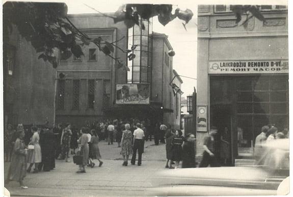 """""""Romuva"""" buvo pripažinta moderniausiu, erdviausiu ne tik tarpukario Kauno, bet ir Lietuvos kino centru. K. Janulaičio nuotr."""