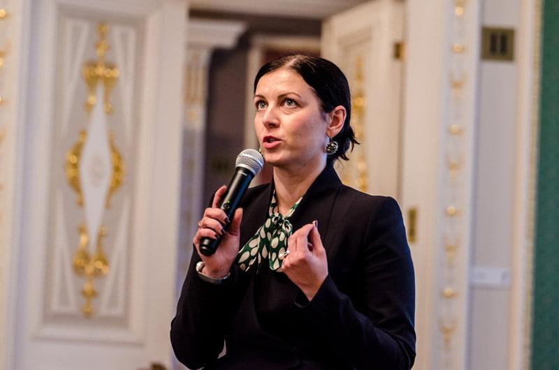 Valstybinės kultūros paveldo komisijos pirmininkė Evelina Karalevičienė. D. Putino nuotr.