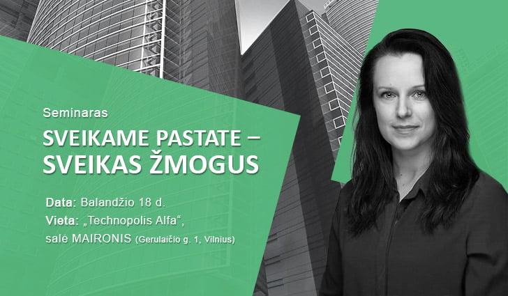 """""""Biownlight"""" verslo vystymo vadybininkė Eglė Mikštavičienė."""
