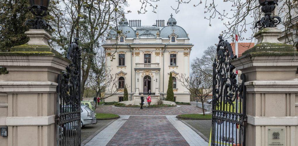 Lietuvių literatūros ir tautosakos institutas (Vileišių rūmai). Giedriaus Akelio nuotr.