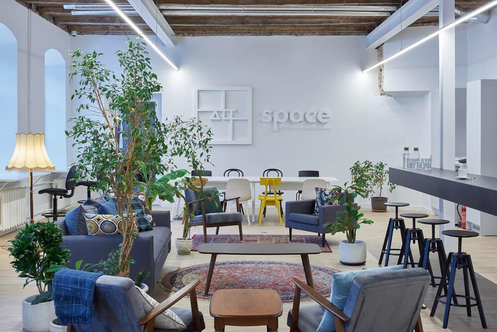 """AltSpace"", ""Do Architects"", bendradarbystės erdvės"