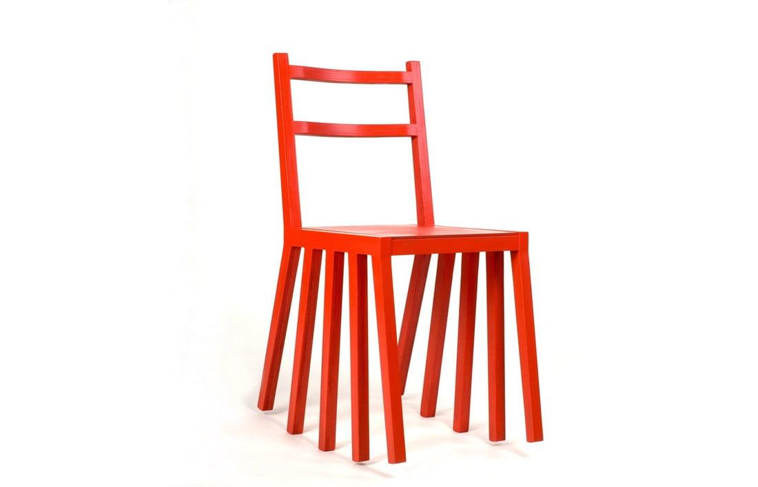 """Kėdė """"Ku-dir-ka"""". Dizaineris Paulius Vitkauskas."""