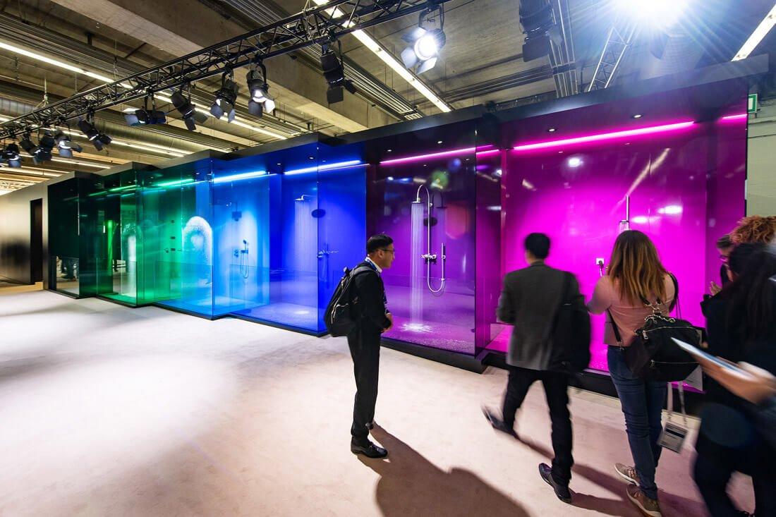 Nuo 2019 m. individualiai įrengtuose vonios kambariuose bus daugiau spalvų – skelbia parodos organizatoriai. Organizatorių nuotr.
