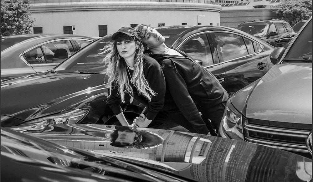 Jasmine Golestaneh ir Eddie Cooper. Sebastian Mlynarski nuotr.