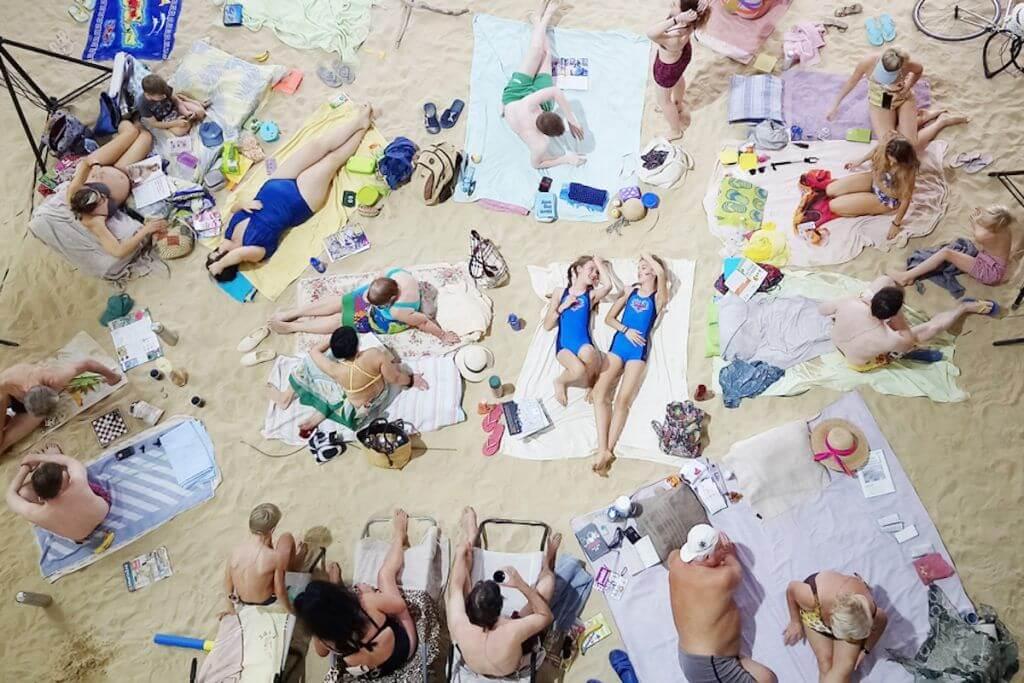 """""""Saulė ir jūra"""", Venecijos bienalė"""