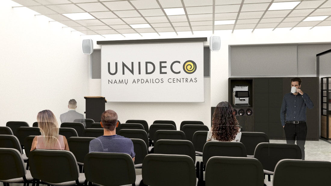 """Unideco"", bendradarbystės erdvės"