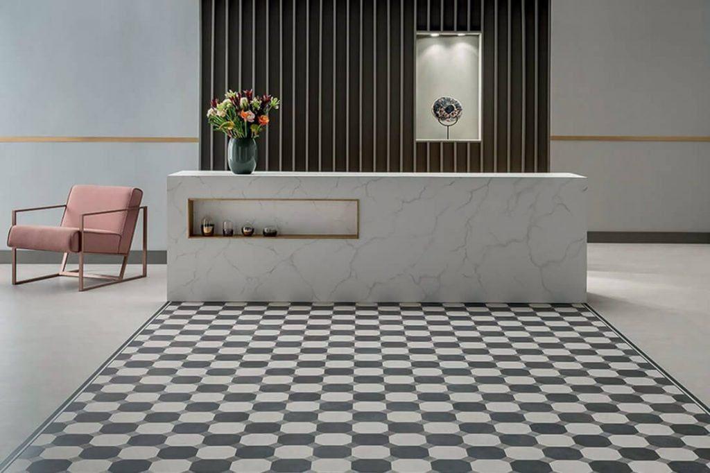 AMTICO SIGNATURE LVT danga. Aukščiausios kokybės vinilinių dizaino grindų kolekcija.