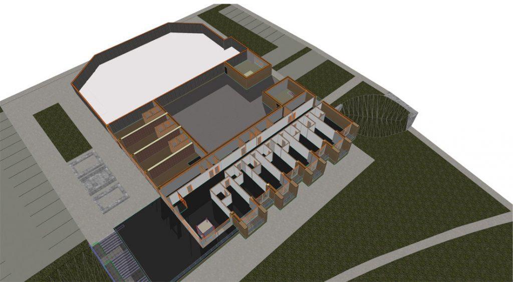 KTU studentų pasirinkimas – griauti apleistą pastato dalį ir statyti naują.