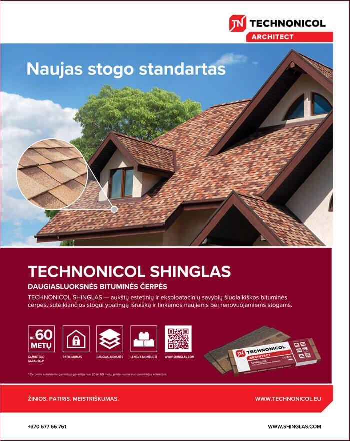 technonicol shinglas
