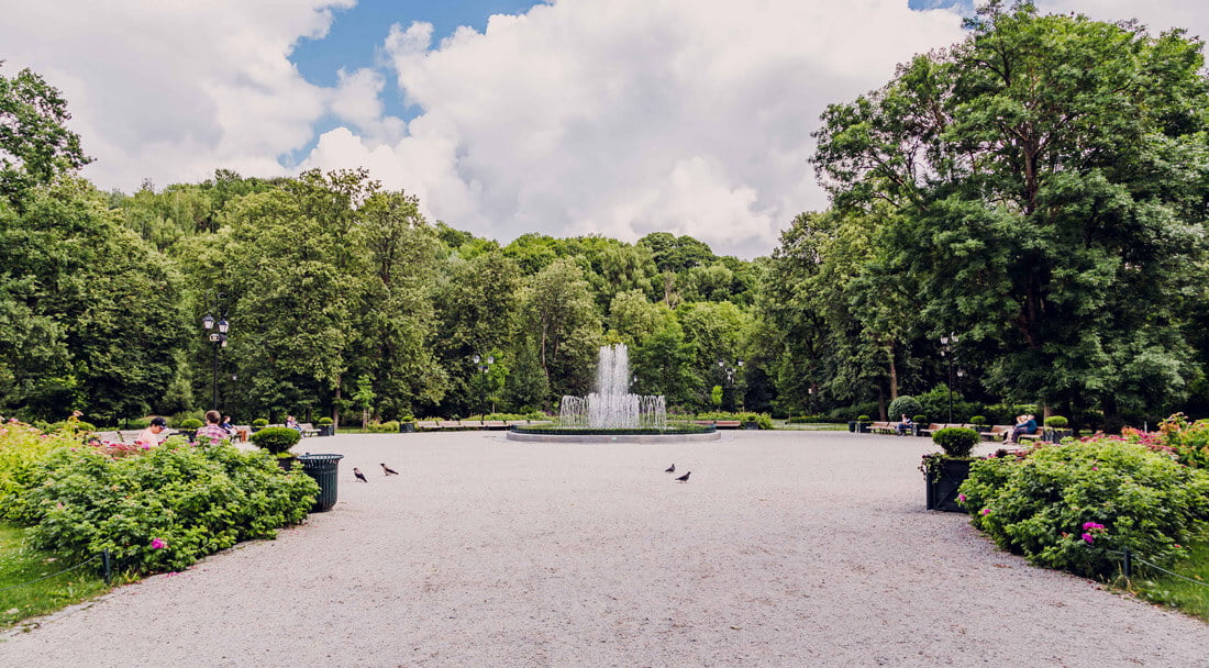 Vilniaus parkų saugumas, VGTU