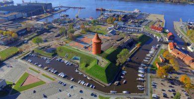 Klaipėdos pilies didžiojo bokšto atkūrimo darbai