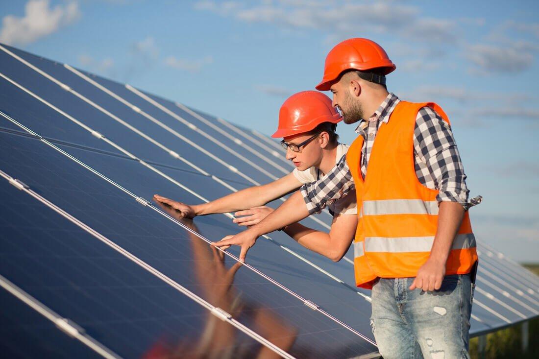 saulės elektrines