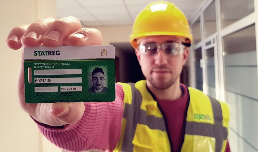statybininkų kortelė, STATREG