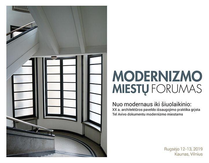 II Modernizmo miestų forumas