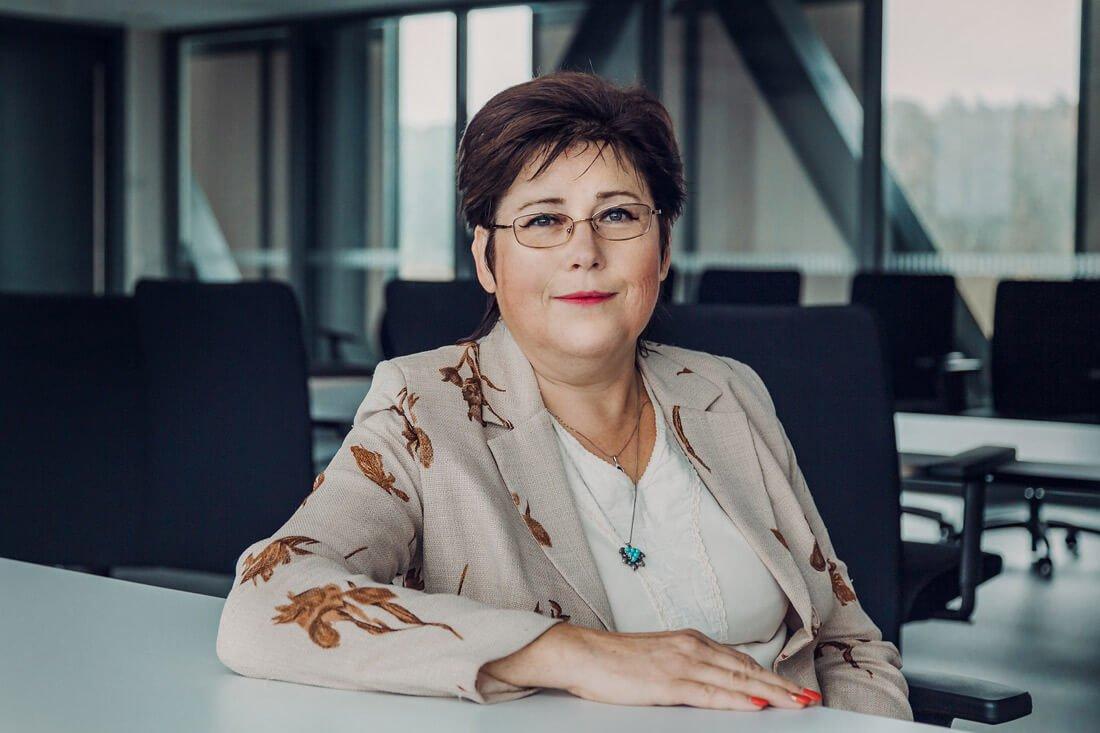 VGTU vyr. mokslo darbuotoja dr. Ina Pundienė. Vaivos Norkevičiūtės nuotr.