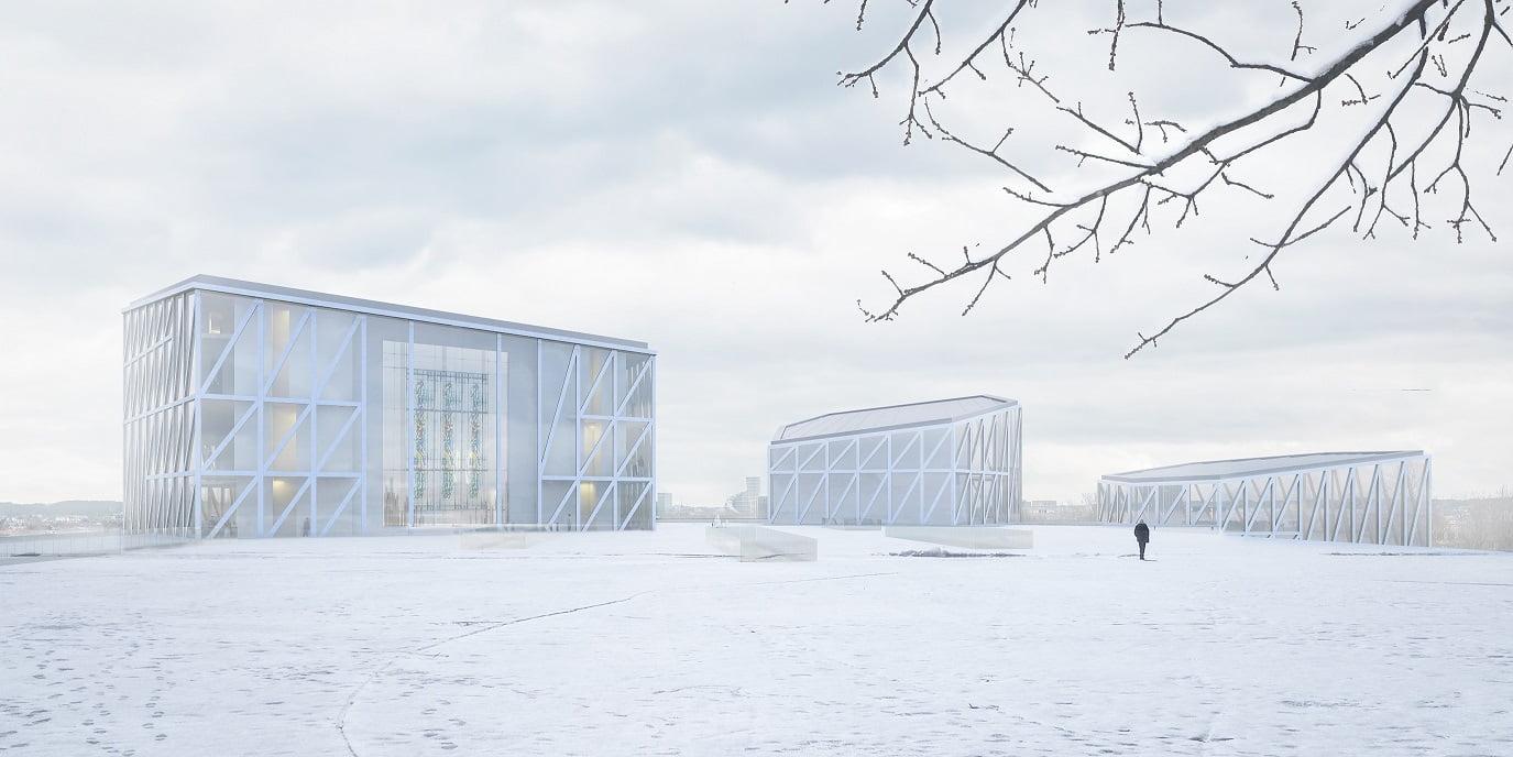 """Architektai projektuodami """"Tautos namus"""" rinkosi atpažįstamumo kelią."""