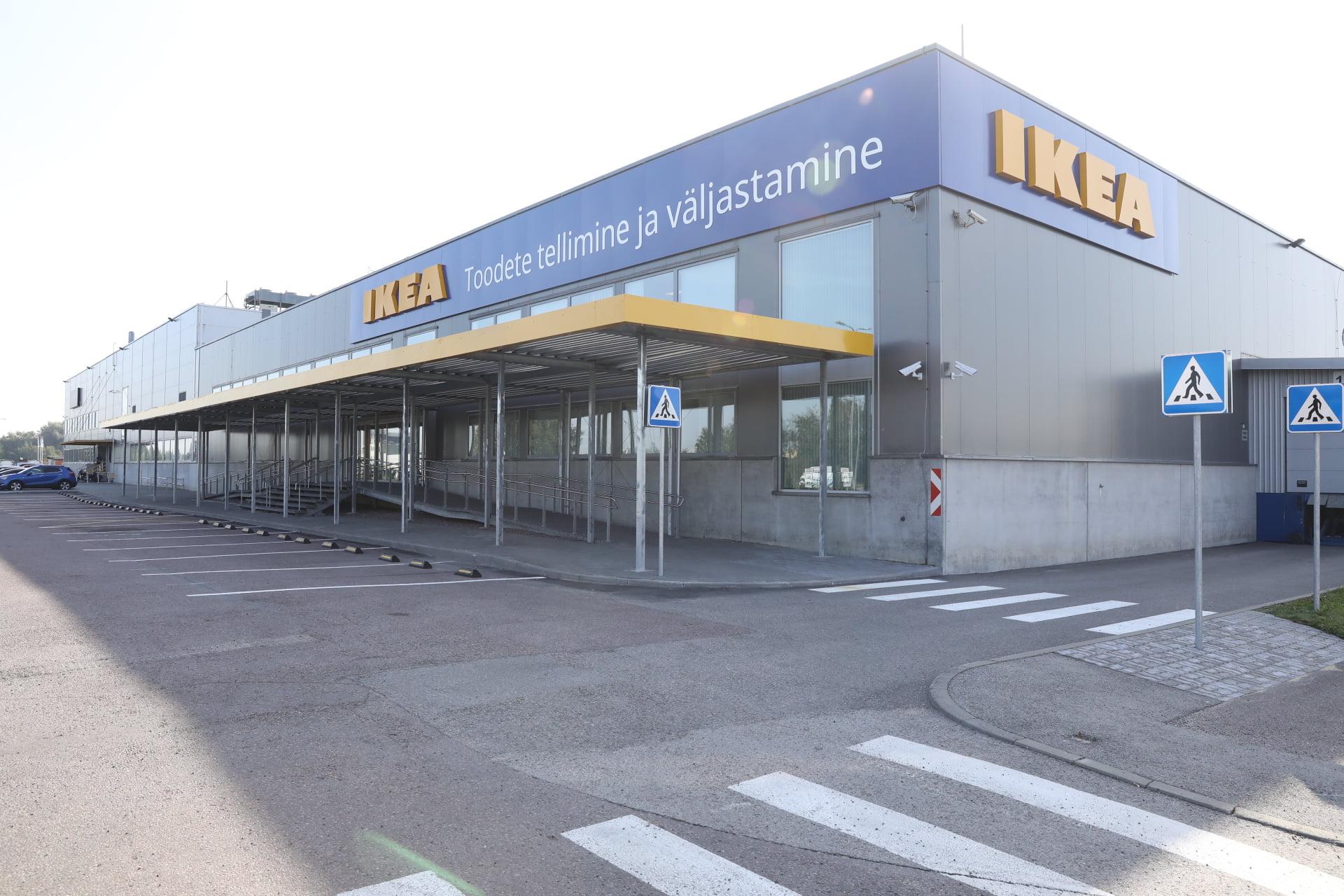 IKEA Taline prekiu uzsakymo ir atsiemimo vieta