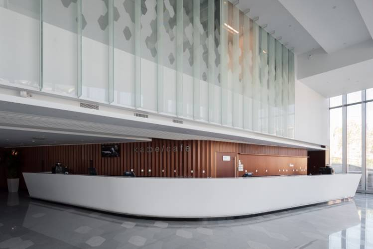 HIMACS lietas dirbtinis akmuo fasadai interjeras baldai viesoji erdve2