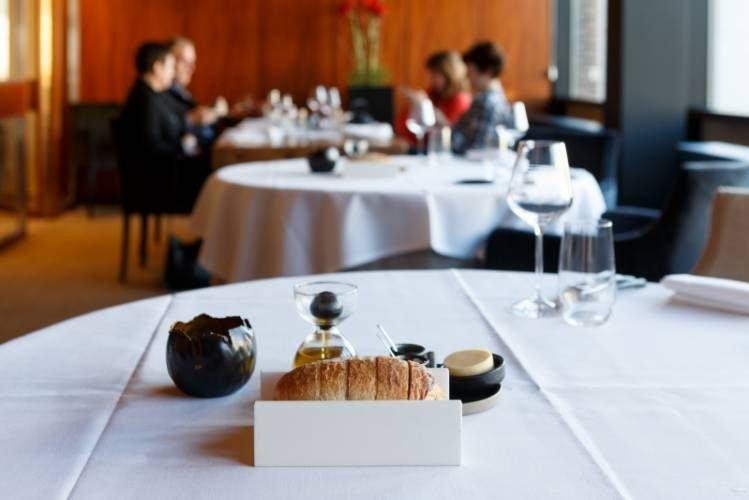 HIMACS lietas dirbtinis akmuo stalo aksesuarai kavines restorano baldai stilius