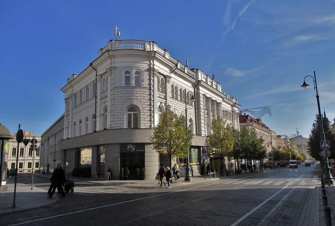 Vilniaus centrinio pašto pastatas. Gyčio Oržikausko nuotr.
