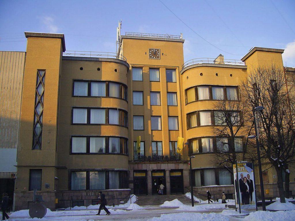 Kauno centrinio pašto rūmai. Gyčio Oržikausko nuotr.
