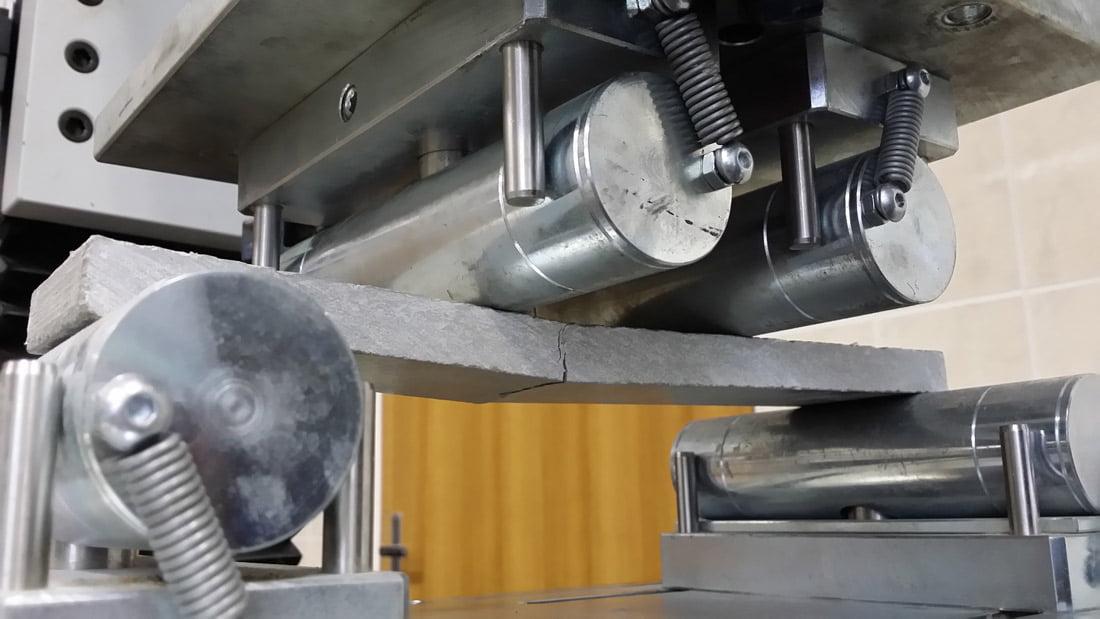 Fibromis armuoto betono bandinys. VGTU nuotr.