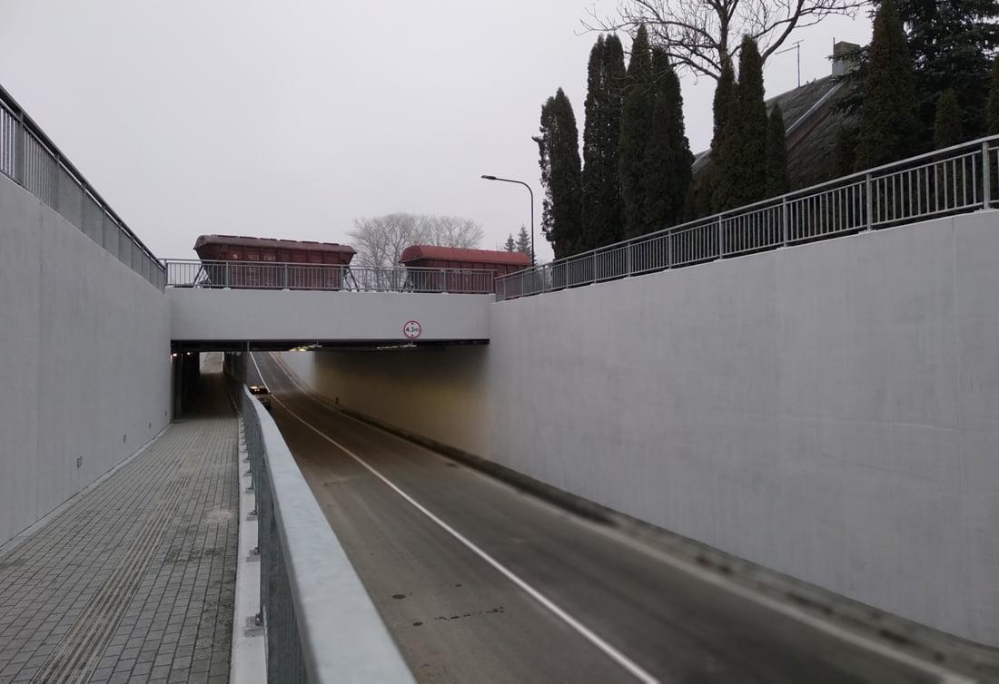 Tiltas Plungėje.