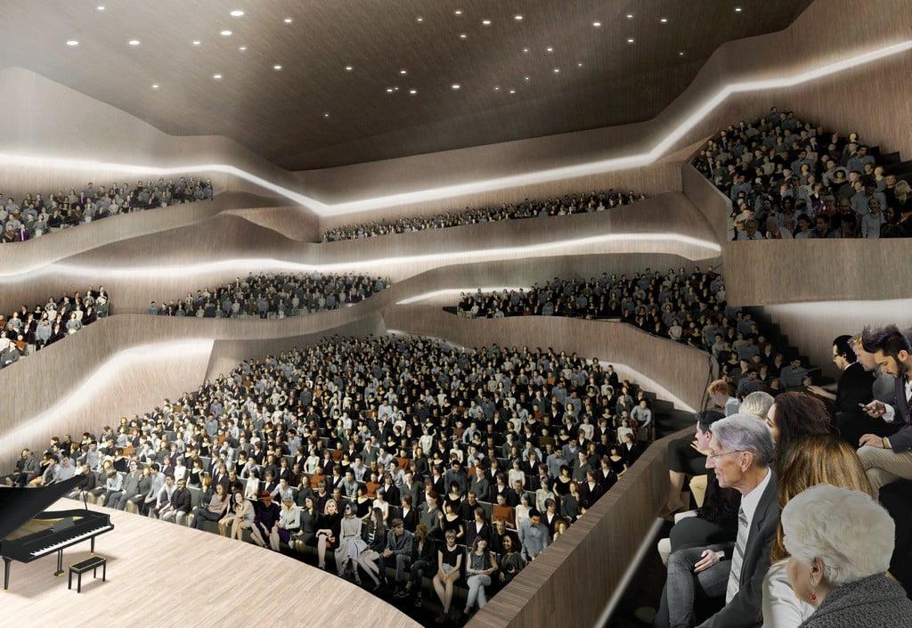 Tarptautinis M. K. Čiurionio Koncertų centro konkursas (Paleko architektų studija)